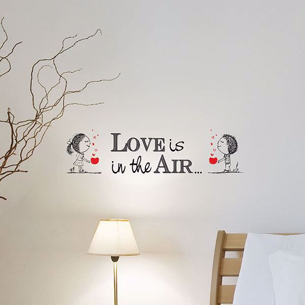 Picture of Love Is  Wall Quote Decals