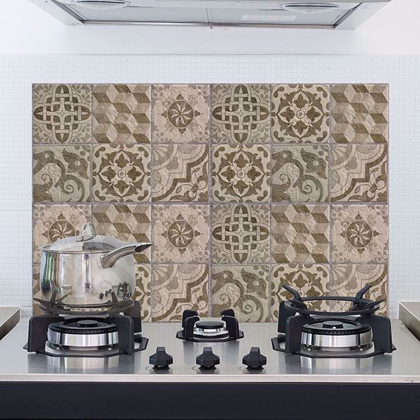 Picture of Beije Azulejos  Kitchen Panels