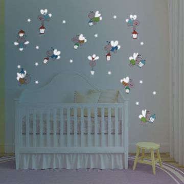 Picture of Fireflies Glow in the Dark  Wall Decals