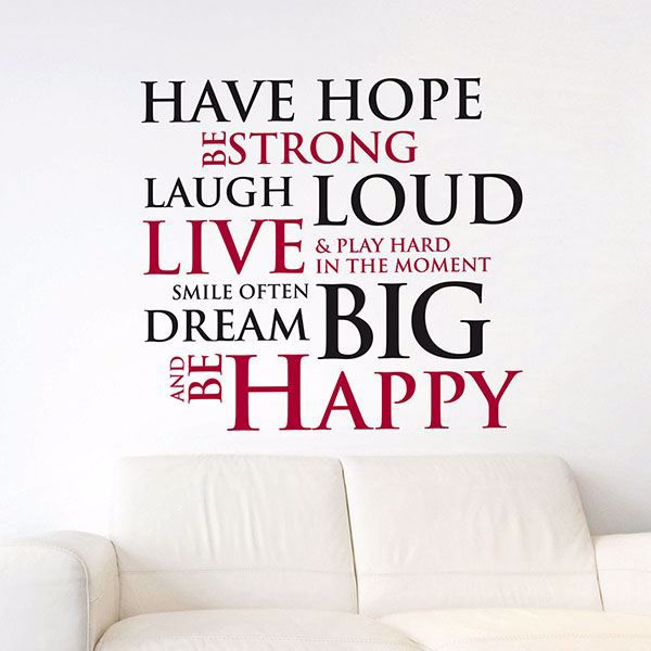 Picture of Have Hope  Wall Quote Decals