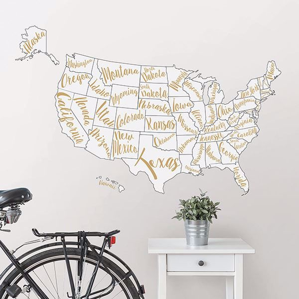Picture of Script Map Wall Art Kit