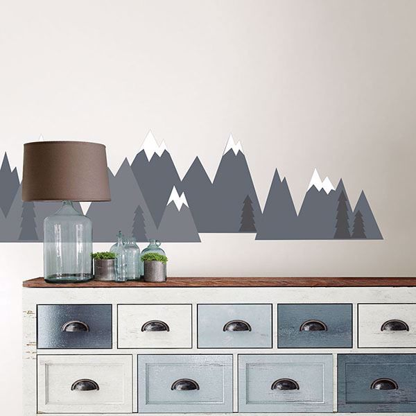 Picture of Mountain Range Wall Art Kit