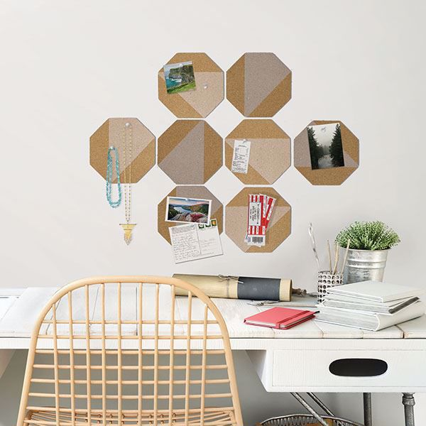 Peel and Stick Cork Board