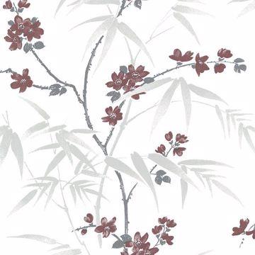 Picture of Yoshino White Cherry Blossom Wallpaper