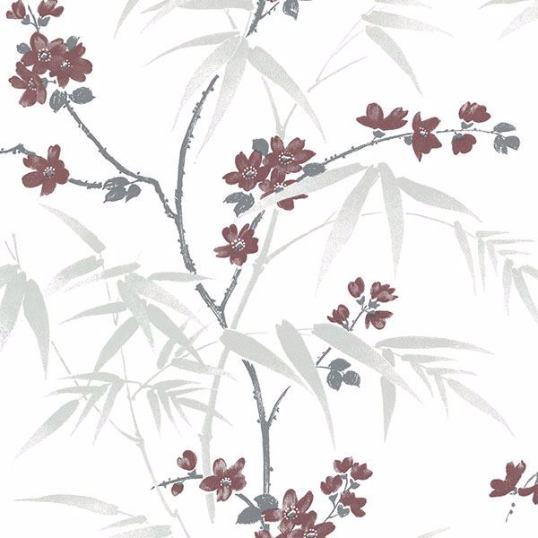 Picture of Yoshino White Cherry Blossom Wallpaper