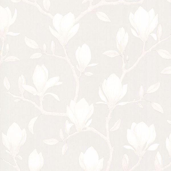 Picture of Grandiflora Beige Magnolia Wallpaper