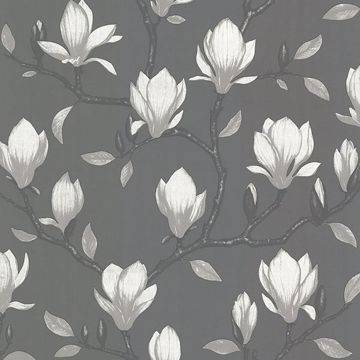 Picture of Grandiflora Charcoal Magnolia Wallpaper