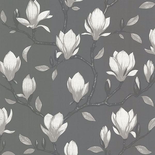 Picture of Grandiflora Charcoal Magnolia Wallpaper
