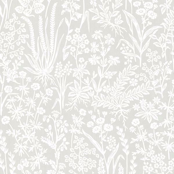 Picture of Brianne Grey Botanical Wallpaper