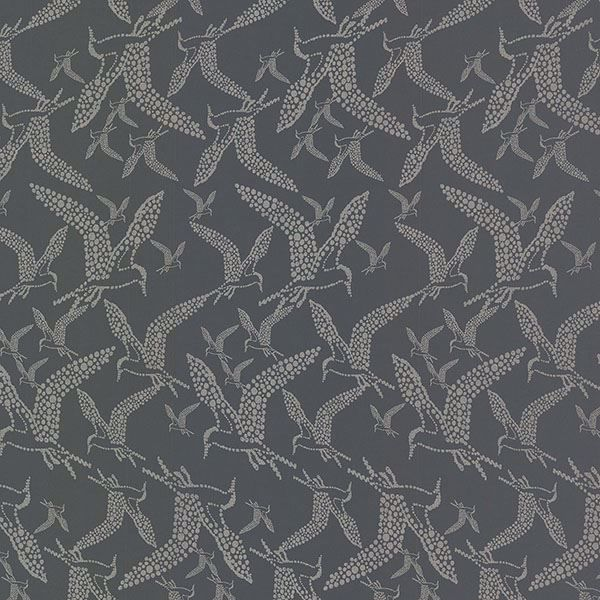 Picture of Lari Charcoal Bird Wallpaper