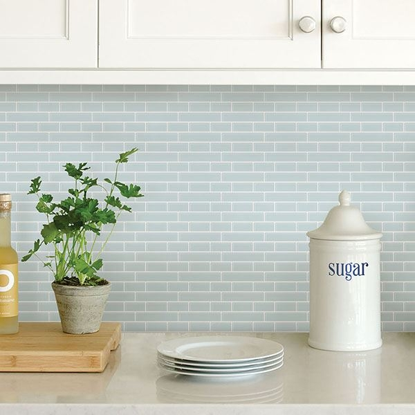Picture of Sea Glass Peel and Stick Backsplash