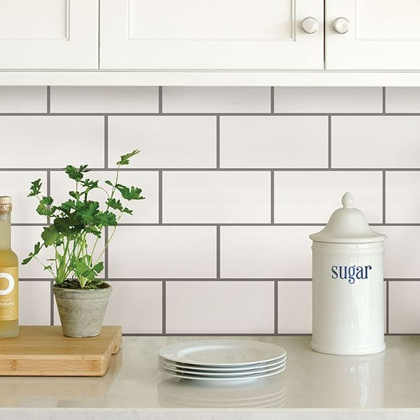 Nh2363 Subway Peel And Stick Backsplash Tiles By In Home