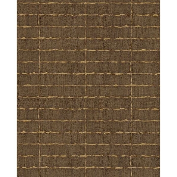 Picture of Brick Brown Batna Wallpaper