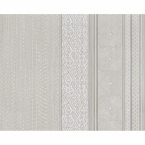 Picture of Stripe Beige Setif Wallpaper
