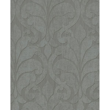 Picture of Damask Grey Vallon Wallpaper