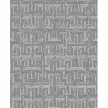 Picture of Geometric Grey Kairo Wallpaper