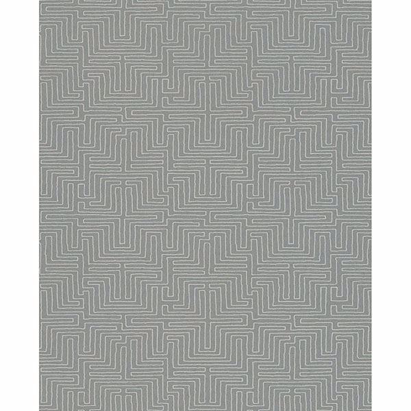 Picture of Geometric Grey Kairo Wallpaper