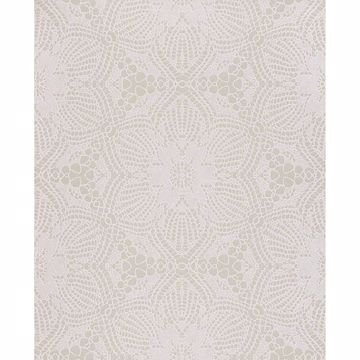 Picture of Seychelles Champagne Medallion Wallpaper