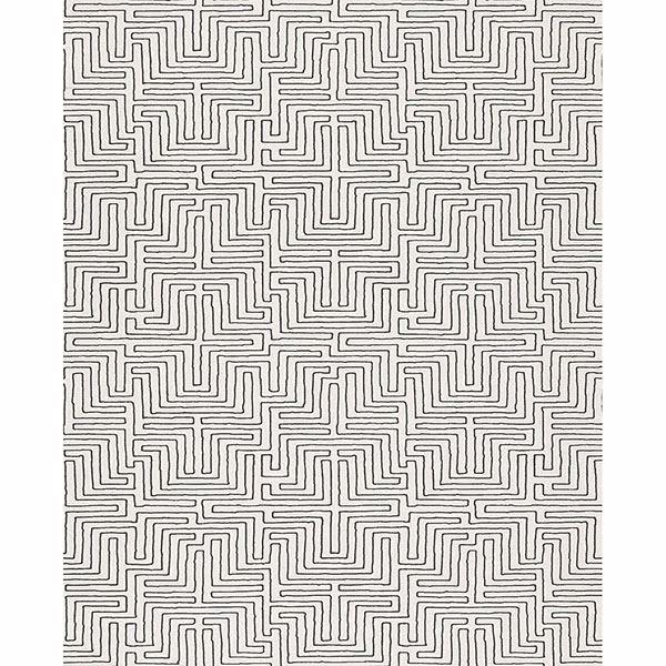 Picture of Geometric Cream Kairo Wallpaper