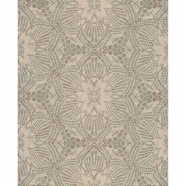 Picture of Medallion Gold Seychelles Wallpaper