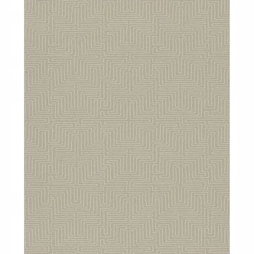 Picture of Geometric Taupe Kairo Wallpaper
