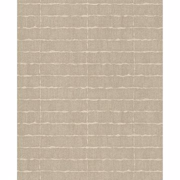 Picture of Brick Taupe Batna Wallpaper