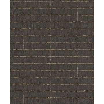 Picture of Brick Dark Brown Batna Wallpaper