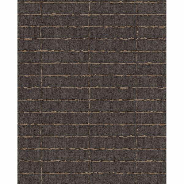 Picture of Brick Dark Brown Batna Wallpaper
