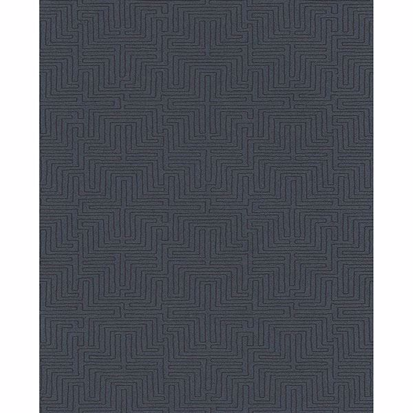 Picture of Geometric Dark Blue Kairo Wallpaper