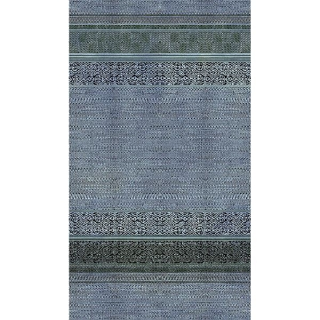 Picture of Indigo Shibori Tapestry Mural