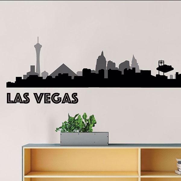 Picture of Las Vegas Cityscape  Wall Art Kit