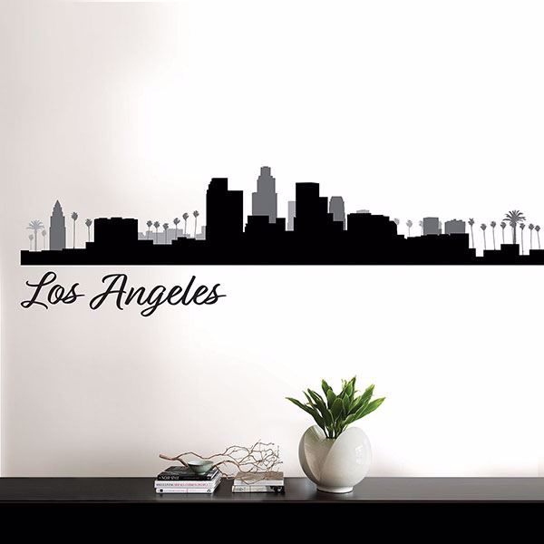 Picture of Los Angeles Cityscape Wall Art Kit