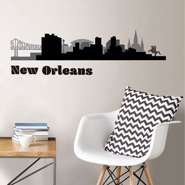 Picture of New Orleans Cityscape Wall Art Kit