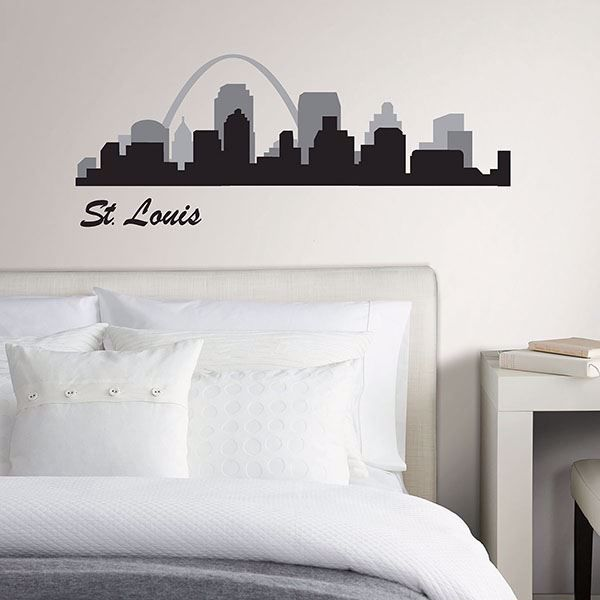 Picture of St Louis Cityscape Wall Art Kit