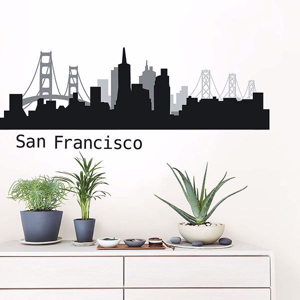 Picture of San Francisco Cityscape Wall Art Kit