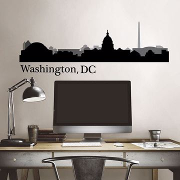 Picture of Washington DC Cityscape  Wall Art Kit