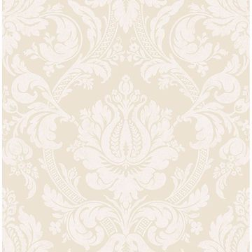 Picture of Briar Beige Damask Wallpaper