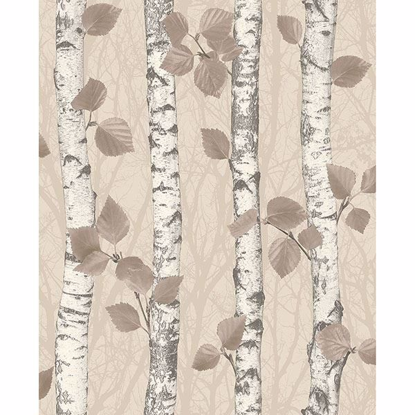 Picture of Birchwood Taupe Glitter Wallpaper