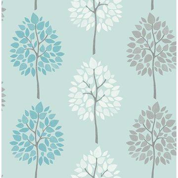 Picture of Alder Blue Tree Wallpaper