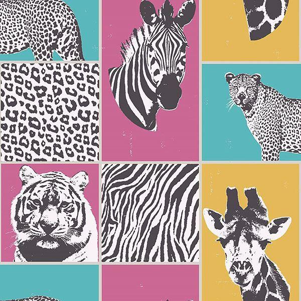 Picture of Zoya Multicolor Safari Wallpaper