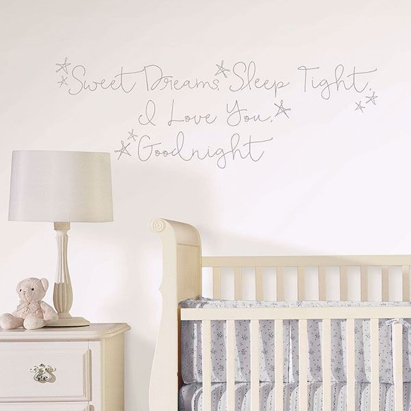 Picture of Sweet Dreams Wall Quote Decals