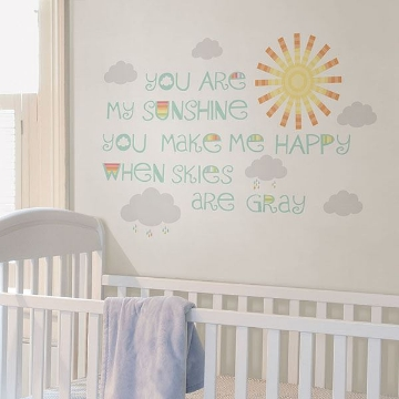 Picture of Sunshine Wall Wish Wall Quote Decals