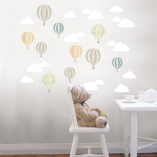 Picture of Up Up and Away Wall Art Kit