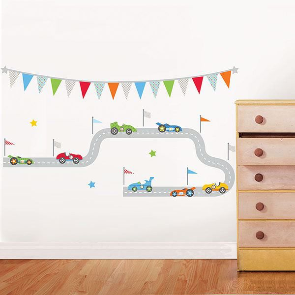 Picture of Race Car Superstar Wall Art Kit
