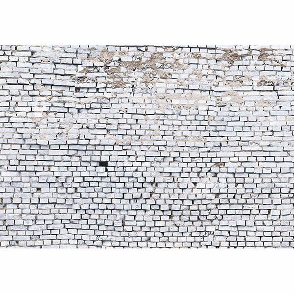 Picture of White Brick Wall Mural