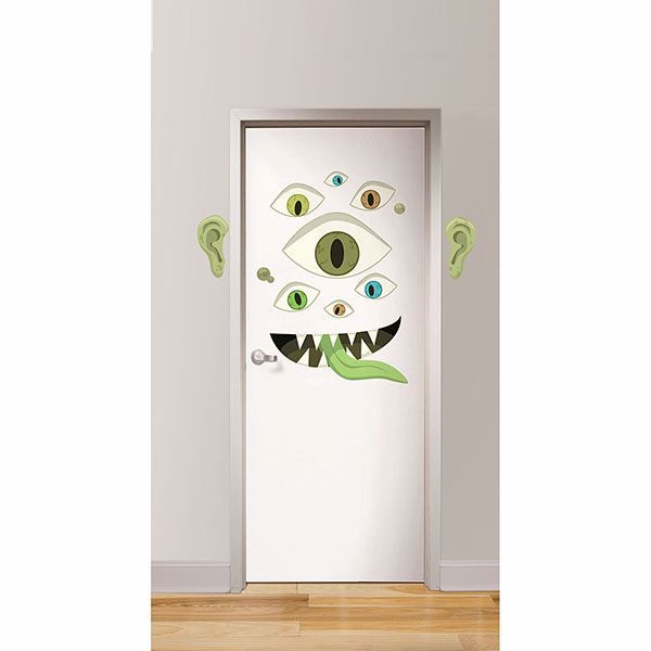 Picture of Eye Monster Door Decal