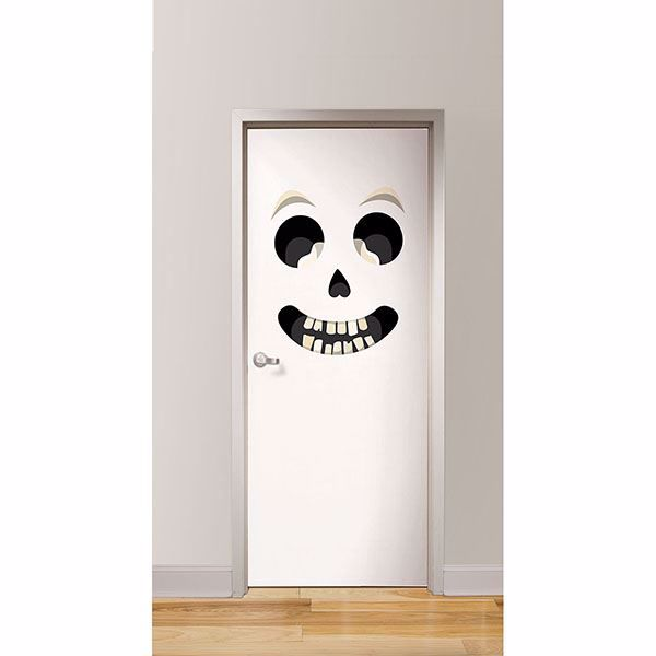 Picture of Sir Bones Door Decal