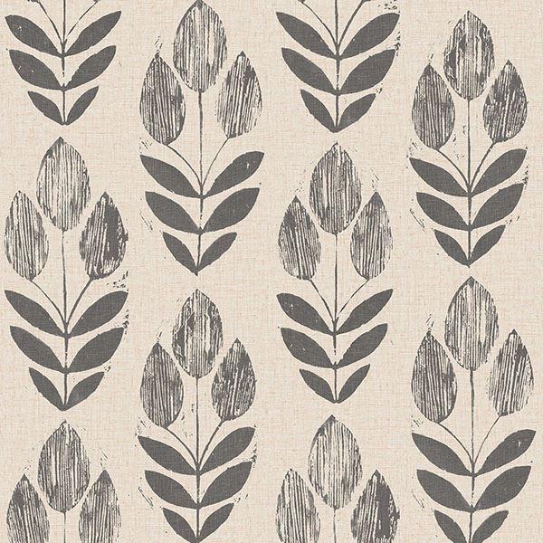 Picture of Folk Tulip Peel & Stick Wallpaper
