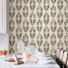 Folk Tulip Peel and Stick Wallpaper