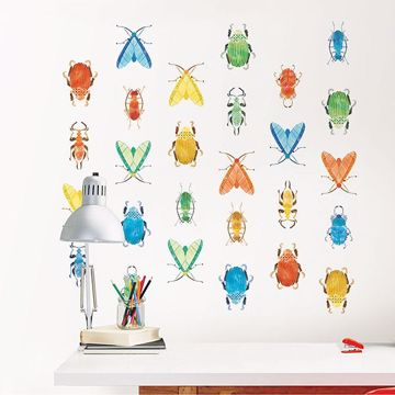 Picture of Love Bugs Wall Art Kit